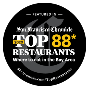 SF Chronicle 2020 Top 88 Restaurants